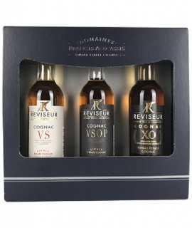 Cognac Le Réviseur - Coffret Dégustation VS-VSOP-XO