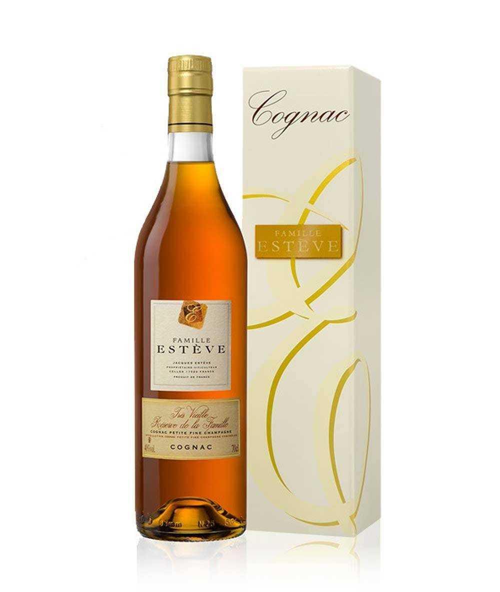 Coffret Cognac Esteve – Très Vieille Réserve de la Famille