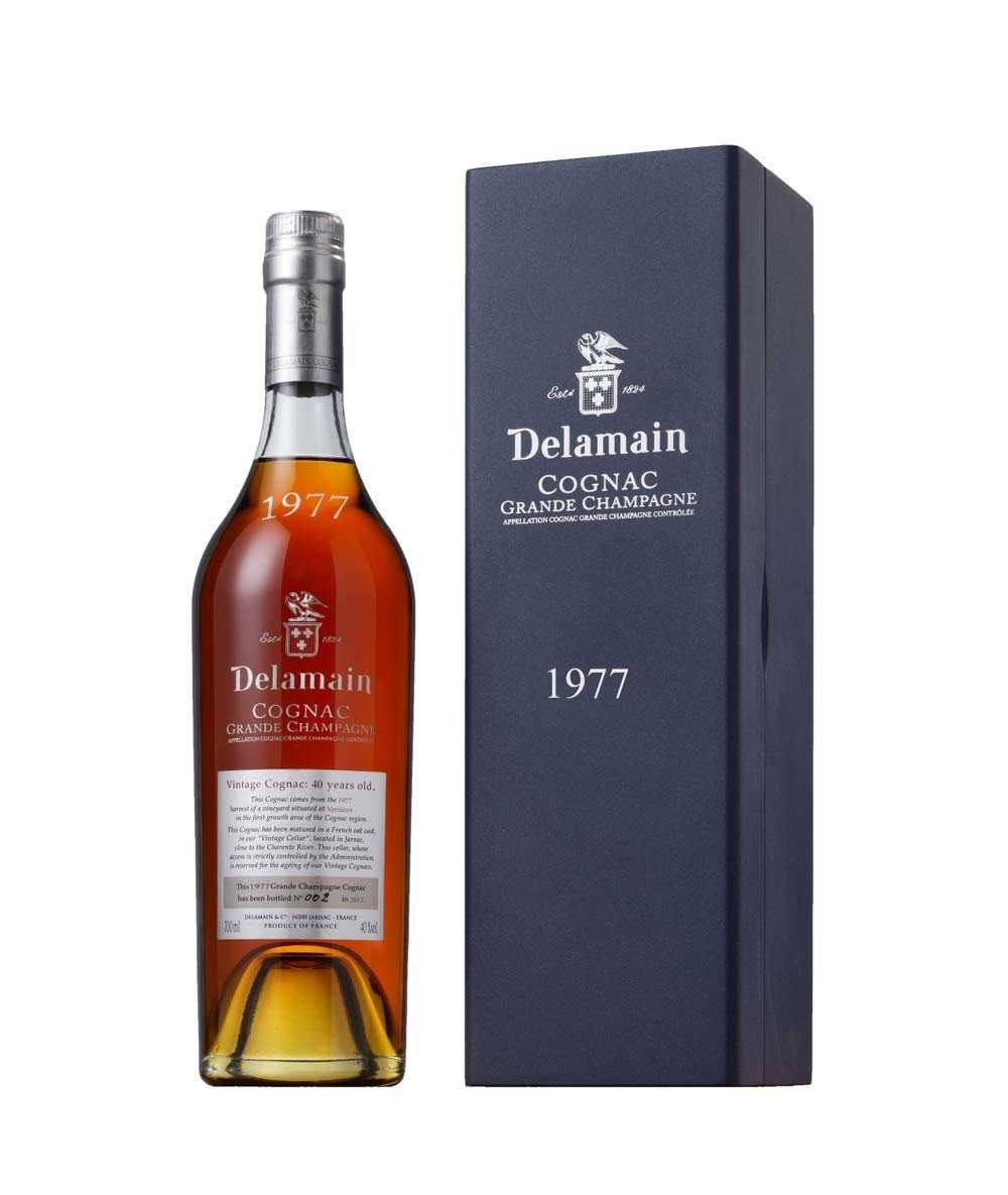 Delamain – Vintage 1977 Grande Champagne Cognac