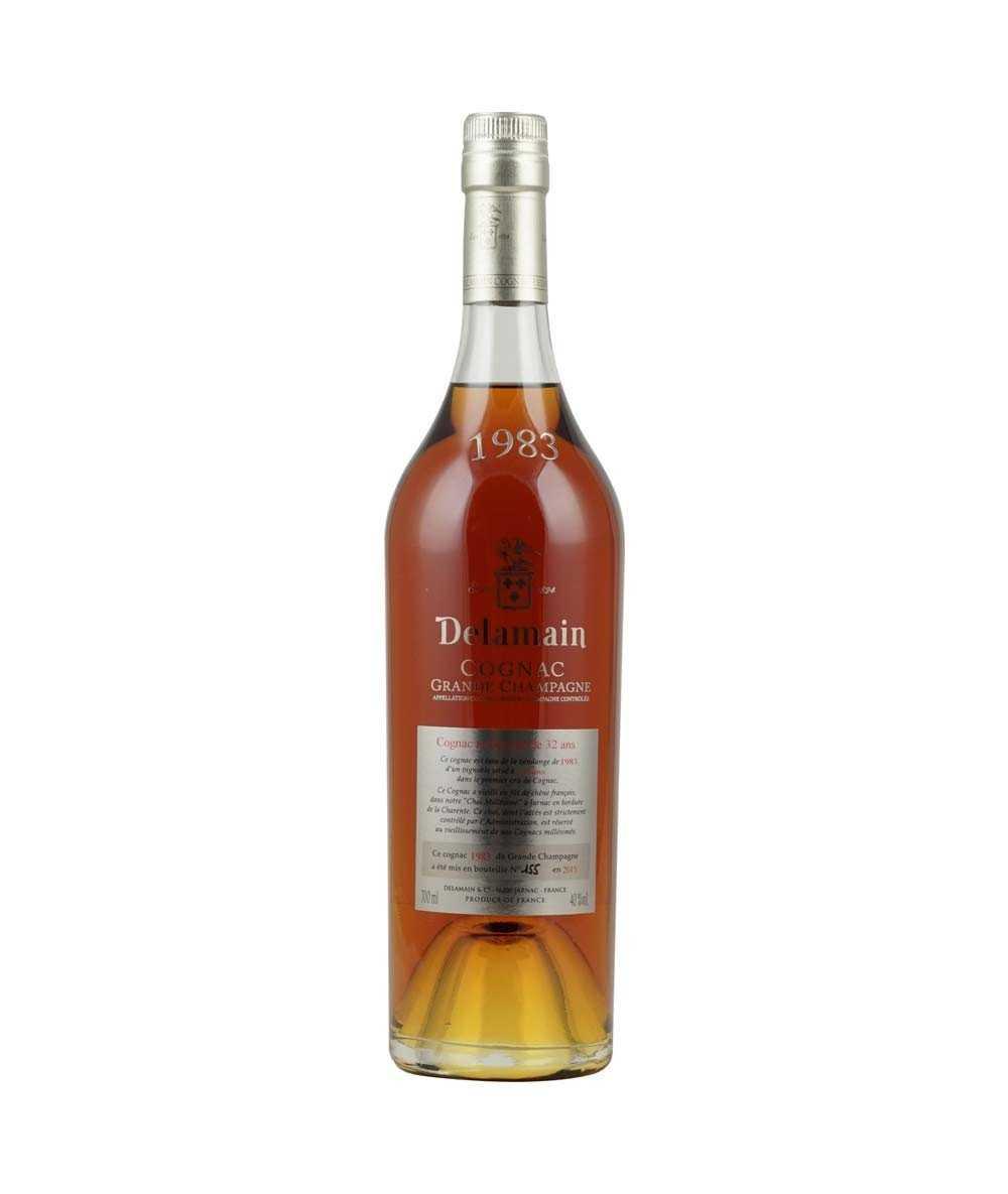 Cognac Delamain – Vintage 1983 Grande Champagne