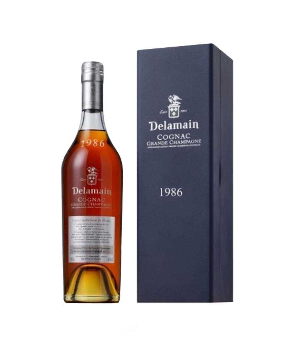 Delamain – Vintage 1986 Grande Champagne Cognac
