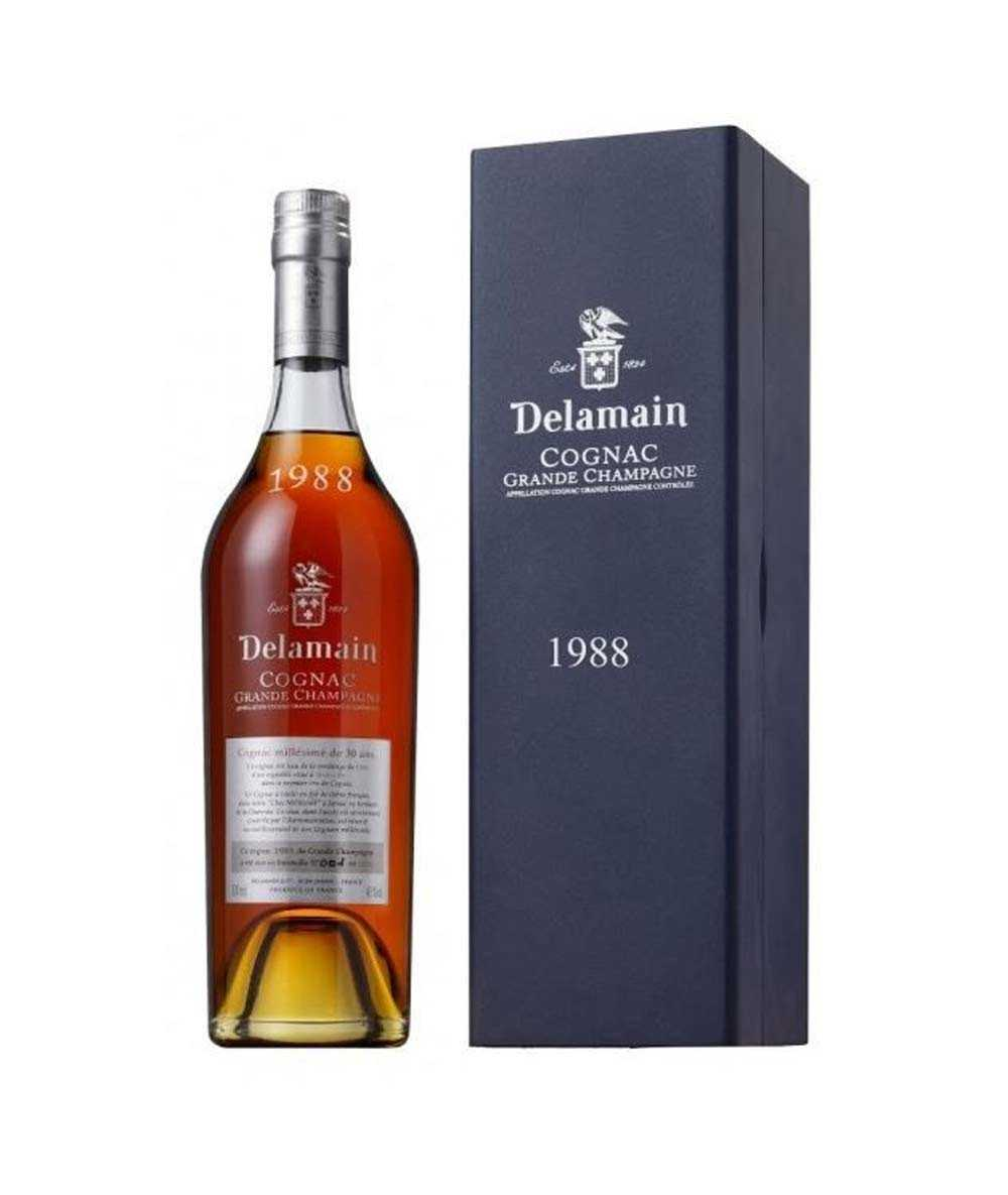 Cognac Delamain – Vintage 1988 Grande Champagne
