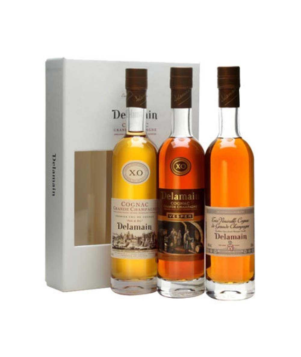 Cognac Delamain – Gift Box Trio