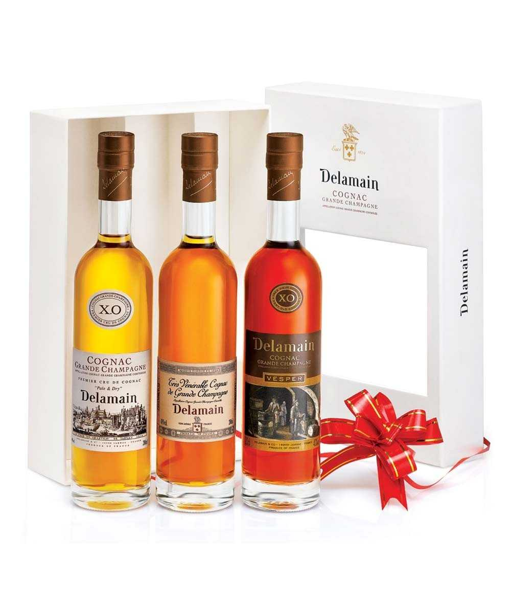 Coffret Cognac Delamain – Gift Box Trio