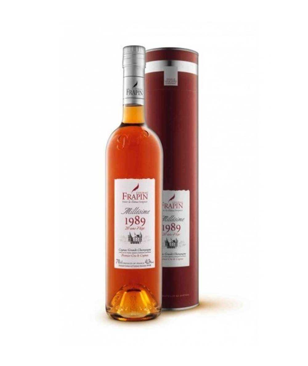 Cognac Frapin – 1989 Château de Fonpinot Grande Champagne Vintage