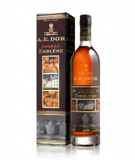 Coffret Cognac A.E. Dor – Embleme