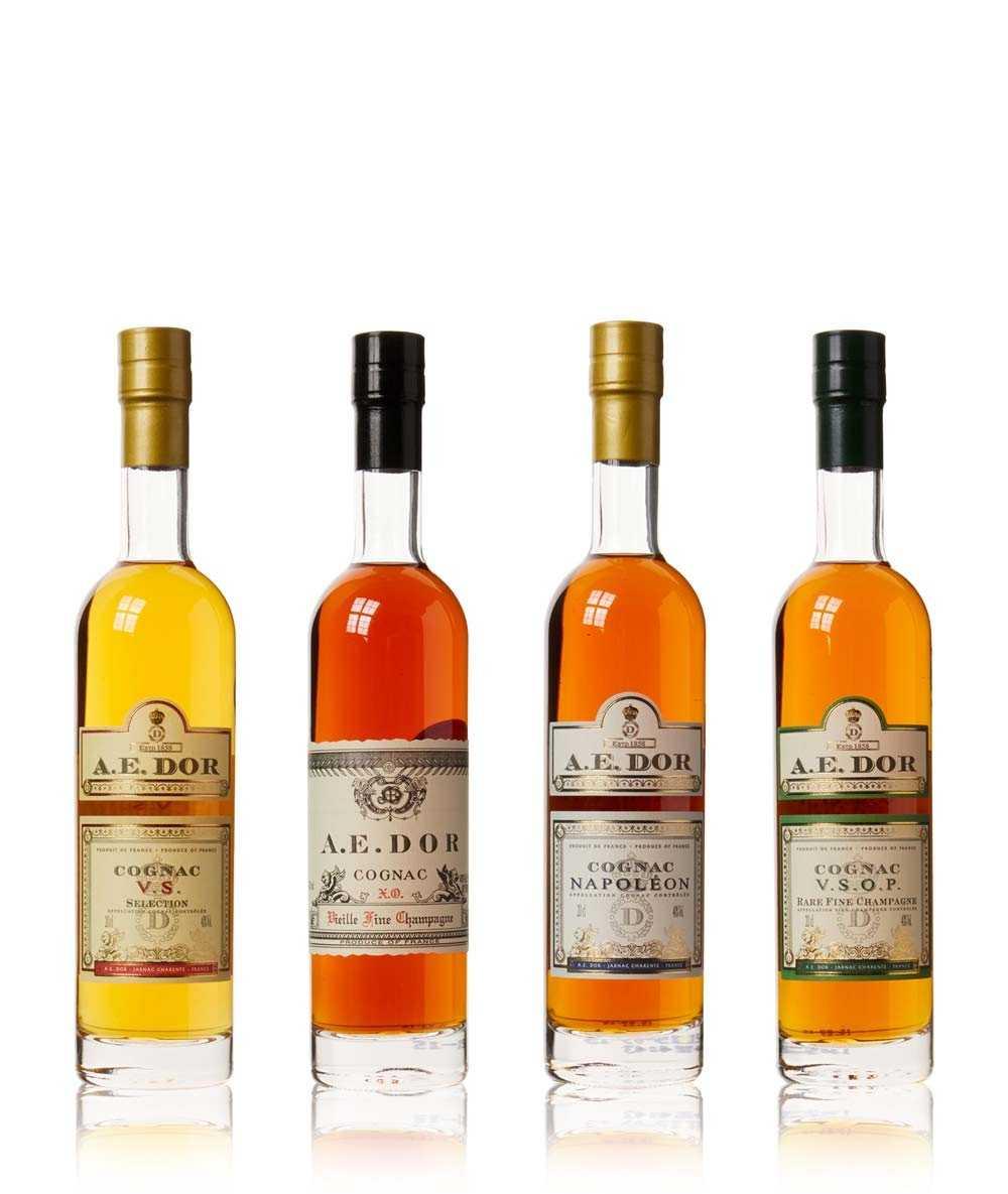 Cognac A.E. Dor – Coffret Degustation Tasting Set