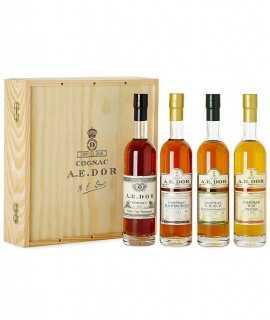 Coffret Cognac A.E. Dor – Coffret Degustation Tasting Set