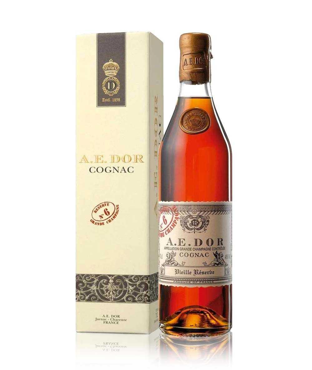 Coffret Cognac A.E. Dor – Vieille Réserve No 6