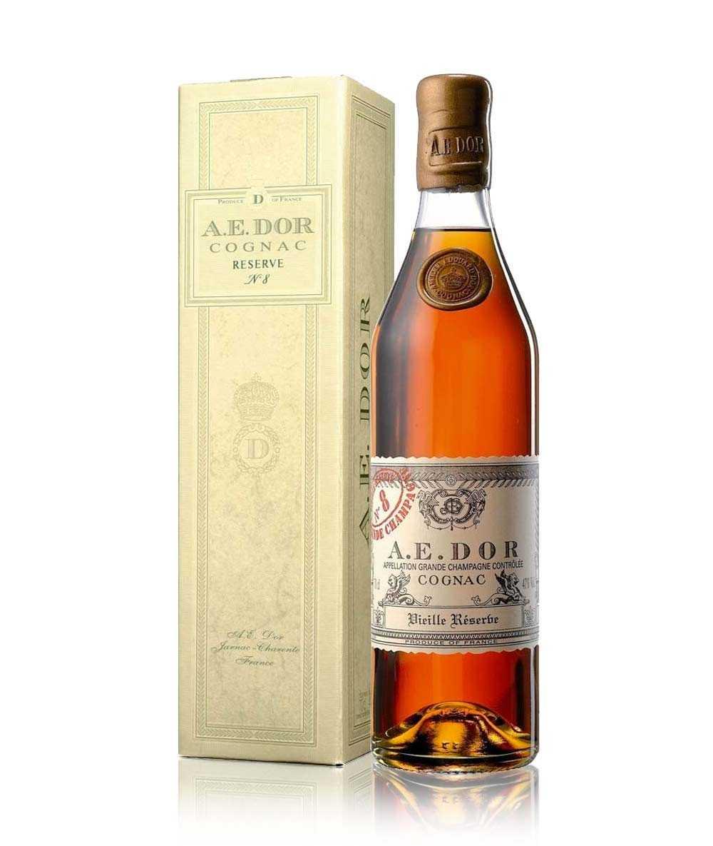 Coffret Cognac A.E. Dor – Vieille Réserve No 8