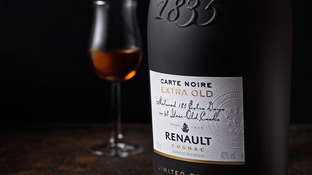 A limited edition for the 180th anniversary of the Renault Cognac House.
