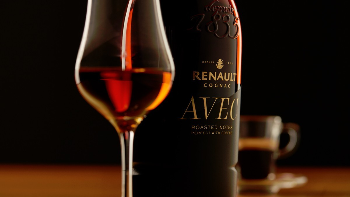 Renault creates Cognac to drink with coffee.