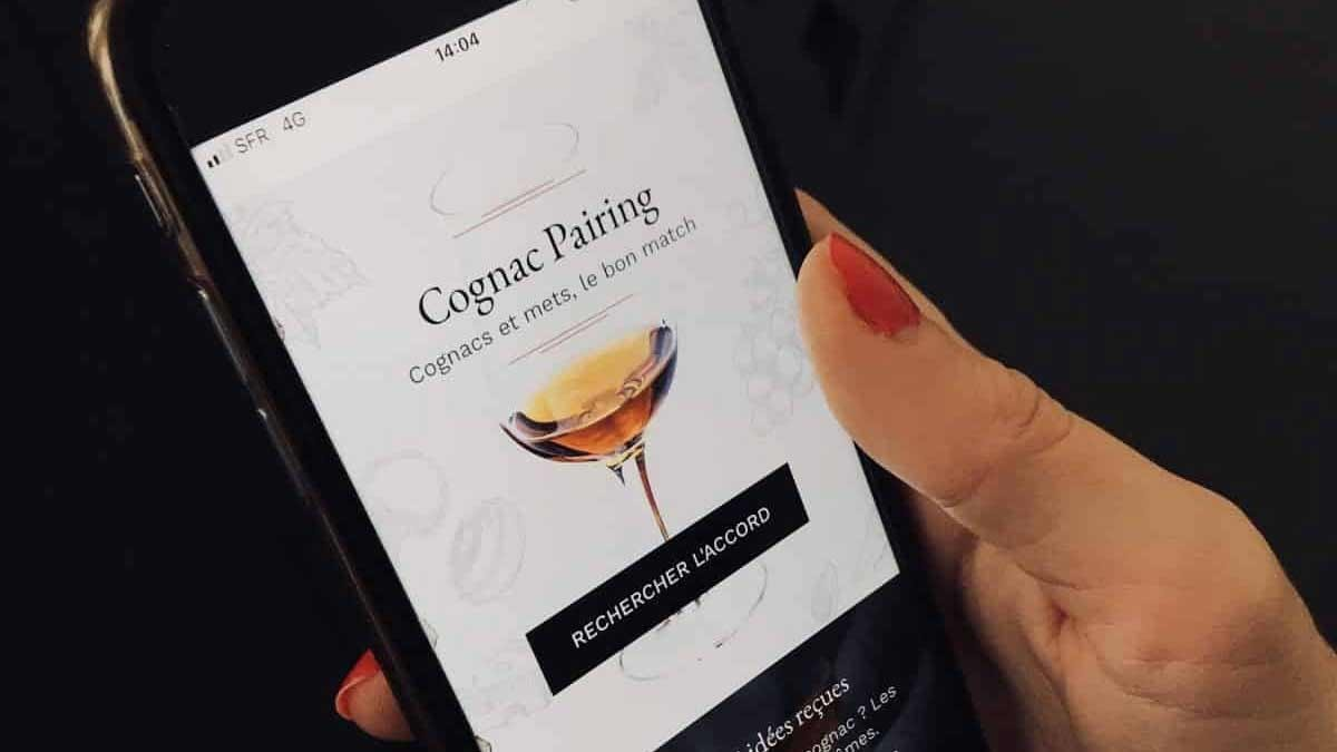 "The ""Pairing Cognac"" in your pocket."