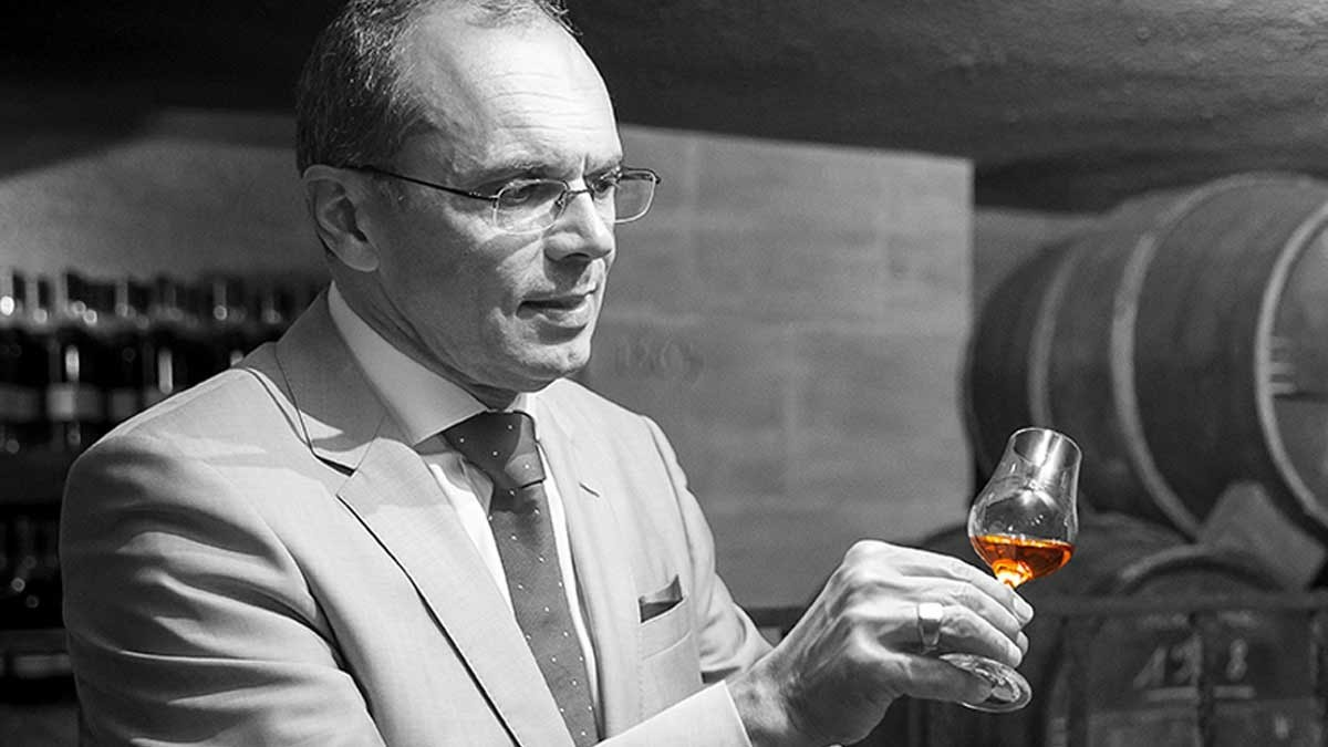 "A cellar master, one word: patrice pinet and ""fire"""