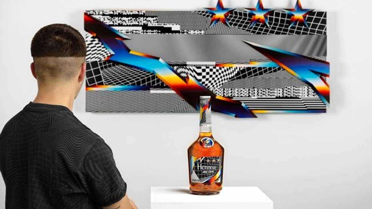 Hennessy: Felipe Pantone Remix VS Limited Edition