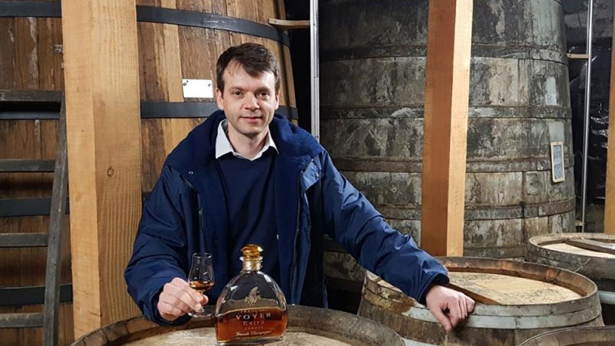 François Voyer Cognac : small estate to become a big exporter.